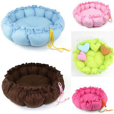 New Pet Cat Small Dog Bed Soft Warm House Kennel Cushion Basket Mat Pad Nest