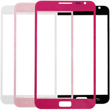 Front Outer Lens Touch Glass / Sticker Adhesive For Samsung Galaxy Note N7000