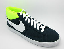 Mens New NIKE BLAZER MID 2.0 Navy Suede Trainers 607273 417