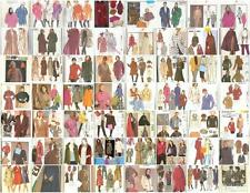 OOP Misses Womens Coat or Jacket Outerwear Sewing Pattern You Pick