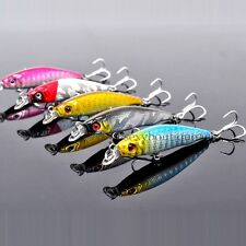 """Tackle Fishing Lures Baits Crankbaits Freshwater Minnow 2.2"""" Hard Small Outdoors"""