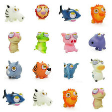 Cute Animal Doll Stress Relief Explode Eye Squeeze Vent Rubber Baby Bath Toys