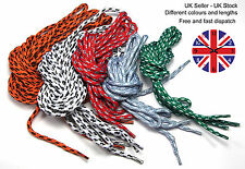Long coloured walking boot hiking boots strong round laces boot laces 3 lengths
