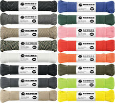 550LB 7 Strand Type III Paracord Rope 100 Feet
