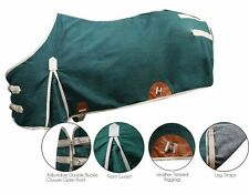 16 oz. Water Resistant Treated Canvas & Wool Blend Lined Showman Horse Blanket