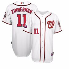 2015 Ryan Zimmerman Washington Nationals Authentic 10th Home Cool Base Jersey