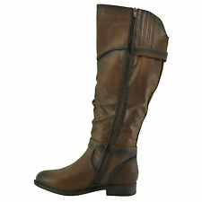 Blossom Pita 32 Brown Women's Slouchy Knee High Classic Riding Boots