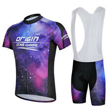 Purple Star Outdoor Sports Clothing Set Cycling Jersey (Bib) Shorts Bike Clothes