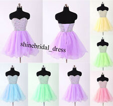 New Short Cocktail Homecoming Ball Prom Bridesmaid Dress Size 4-6-8-10-12-14-16