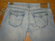 NWT Men's TRUE RELIGION Ricky Relaxed Straight Jeans (Retail $328.00 )