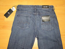 NWT Men's 7 For All Mankind Carsen Luxe Performance Easy Straight Leg Jeans