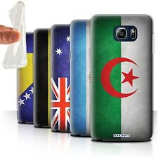 STUFF4 Gel/TPU Case/Cover for Samsung Galaxy Note 5/N920/Flags