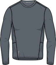 Duofold by Champion Men's Brushed Back Crewneck Long Sleeve T-Shirt. KCB1
