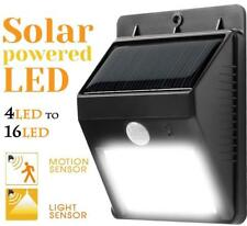 Solar Lights Outdoor Motion Sensor Spotlight Lighting Garden Porch Deck 4-16 LED