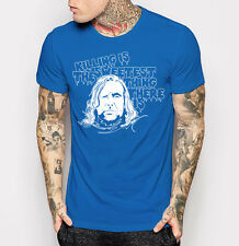 New The Hound Game of Thrones T-shirt Men's Cotton Blue Tee Shirt M L XL 2XL 3XL