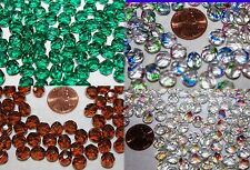 """8mm-100 Beads-About 2-16""""Strands-Fire Polished-Czech Glass Beads-Assorted Colors"""