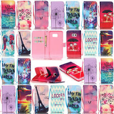 Pattern Wallet Leather Stand Case Cover For Samsung Galaxy S6 Edge/S4/S3/S5 Mini