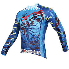 Paladin Scorpion King Men's Bicycle Clothing Long Sleeve Bike Cycling Jersey Top
