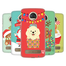HEAD CASE DESIGNS JOLLY CHRISTMAS TOONS HARD BACK CASE FOR MOTOROLA PHONES 1