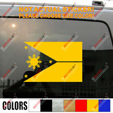 Flag of the Philippines Eight-ray Sun Car Decal Sticker