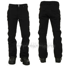 BURTON Mens 2015 Snowboard Snow True Black GORE-TEX CARGO PANTS