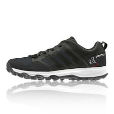 Adidas Kanadia 7 Mens Black Gore Tex Trail Running Sports Shoes Trainers