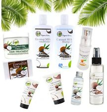 ORGANIC PREMIUM Virgin Cold Coconut Oil and Soap Products For Hair Skin Bodily