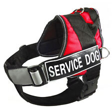 Reflective Service Dog Harness Vest Removable Chest Plate Harness Velcro Patches