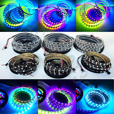 WS2811 IC 5050 RGB LED Strip Light Pixel Full Color Black Non IP67 Waterproof 5M