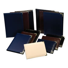 Kenro Photo Album 6x4 or 7x5 in Navy Blue, Burgundy, Black or Ivory