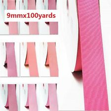 "by  Wholesale 100 Yards Best YAMA Grosgrain Ribbon 3/8"" /9mm. for Gift"