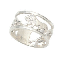 Ring Lion 925 Sterling silver handcrafted size 6 - 9