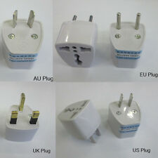 1Pcs US/USA to European Euro EU Travel Charger Adapter Plug Outlet Converter