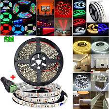 Waterproof Super Bright 5M 3528 5050 5630 SMD 300/600 LEDs Flexible Strip Light