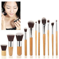 Bamboo Handle Makeup Brush Set Eyeshadow Foundation Concealer cosmetic Brush