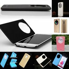 For LG Optimus G3 G4 Ultra Slim Quick Circle Clear Window Flip Case Cover New