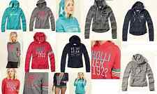Hollister By Abercrombie Womens Hoodie Sweatshirt Pullover Size XS S M L Popular