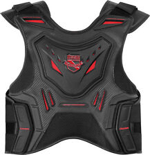 ICON STRYKER VEST FIELD ARMOR RED BLACK MOTORCYCLE STREET OFFROAD RIDING CE
