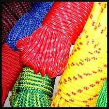 8 mm PolyPropylene Rope Braided Cord Wire Twine Strand Strong String Line Sport