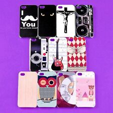 Wholesale Lot Colorful Back Skin Case TPU Hard Cover Protector iPhone 4 4S 4G