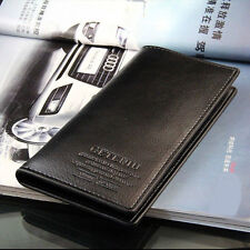 Fashion Men's Long Casual Leather Wallet Pockets Card Clutch Cente Bifold Purse