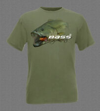 Big Largemouth Bass fishing T-shirt