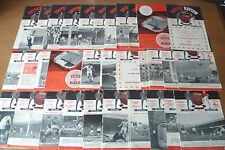 1959-61 - Manchester United - Home Programmes
