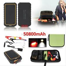 50800mAh Portable Vehicle Car Jump Starter Power Bank Battery Charger Booster