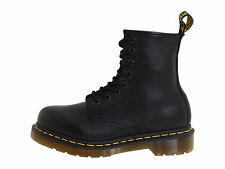 Dr. Martens 1460 8 Eye  Black Nappa Men's Leather Boots 11822002