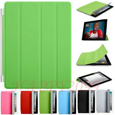 Hot Ultra Thin New Magnetic Leather Smart Skin Cover Case For Apple iPad 2 3 4