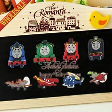 8PCS Thomas Planes Fridge Magnets,Cartoon Magnetic Stick,Office Supplies Gifts