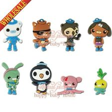 New 8PCS The Octonauts Robocar Poli Fridge Magnets,Cartoon Magnetic Stick,Gifts