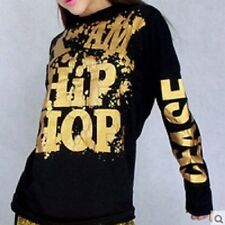 Hip hop dance long sleeve t-shirt  brand new