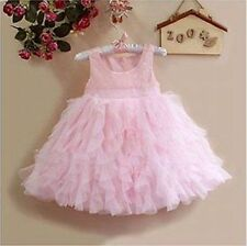 BNWT Tulle Party Flower Girl Dress With Sequin Size 18M,3,5